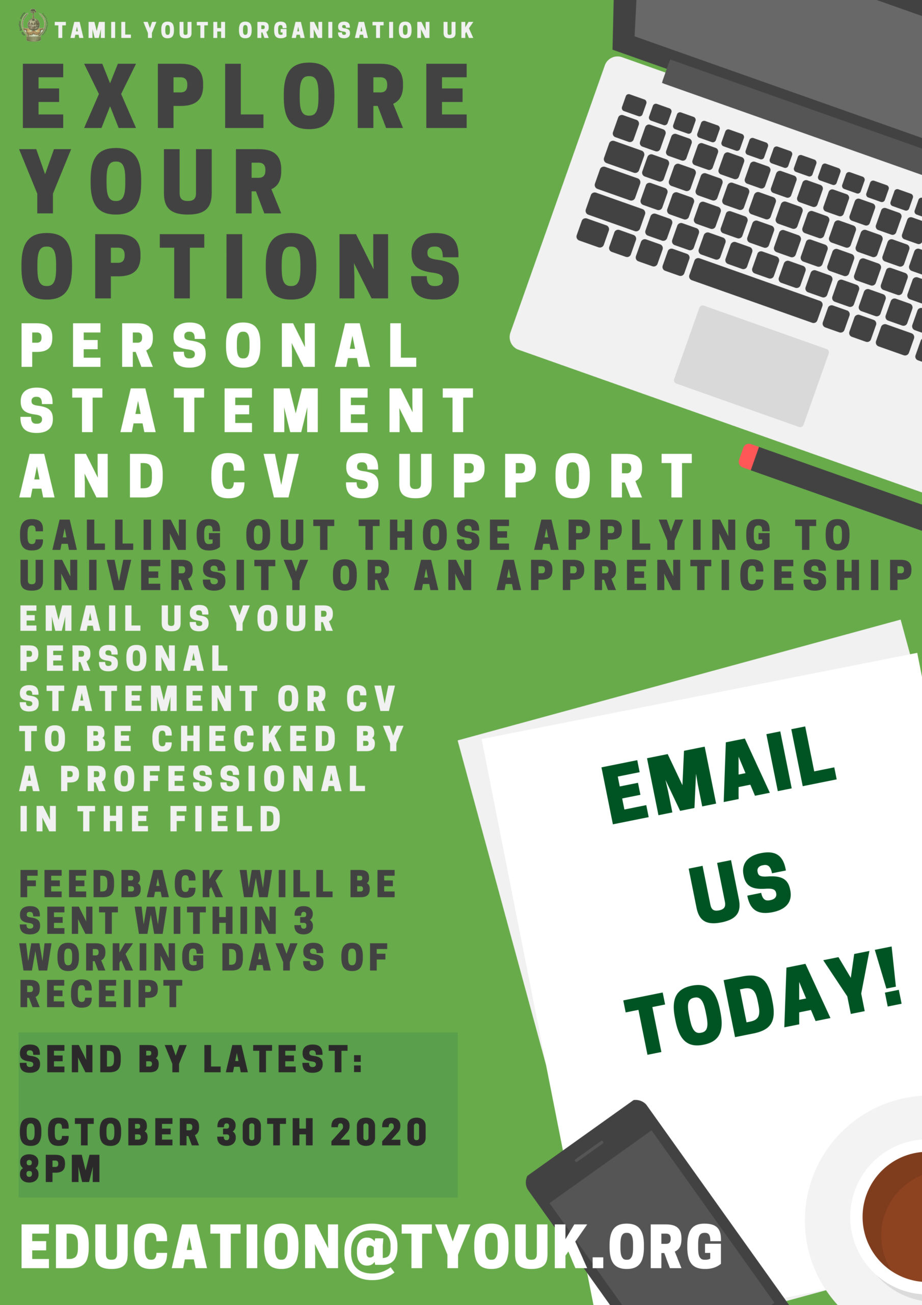 Personal Statement and CV